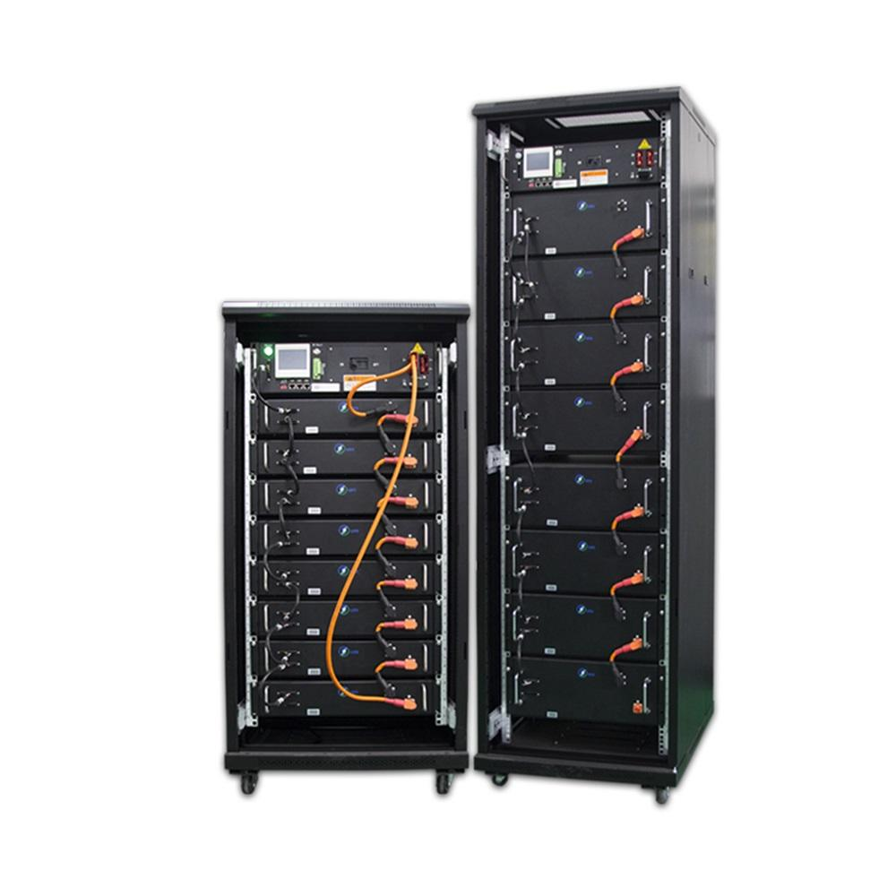 Top selling 75Ah lcd display real-time monitoring black lifepo4 battery high voltage battery