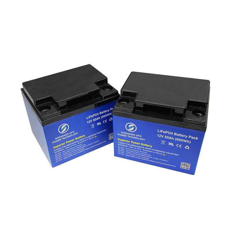 Deep Cycle 12.8V 50Ah Solar Lithium BatteryLiFePO4 battery pack