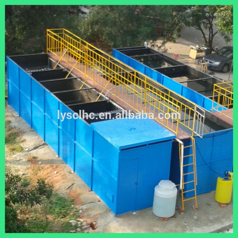 Integrated MBR wastewater treatment plant/environmental protection equipments