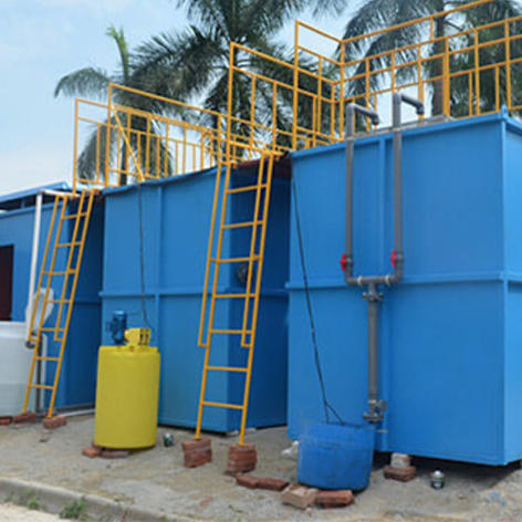 sewage reuse water /containerized package treatment plant 250m3/day