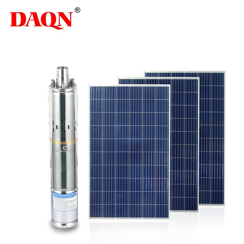 ALLTOP Energy saving cropland irrigation system 210 watt mass flow solar power water pump