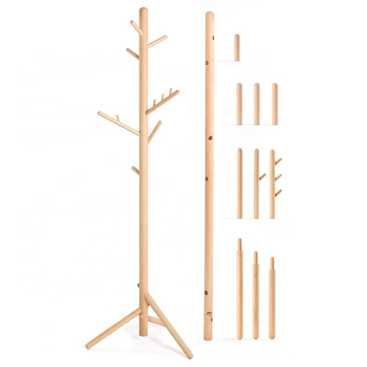 wholesale unique design bedroom hat bag hanging rack eco-friendly simple coat stand