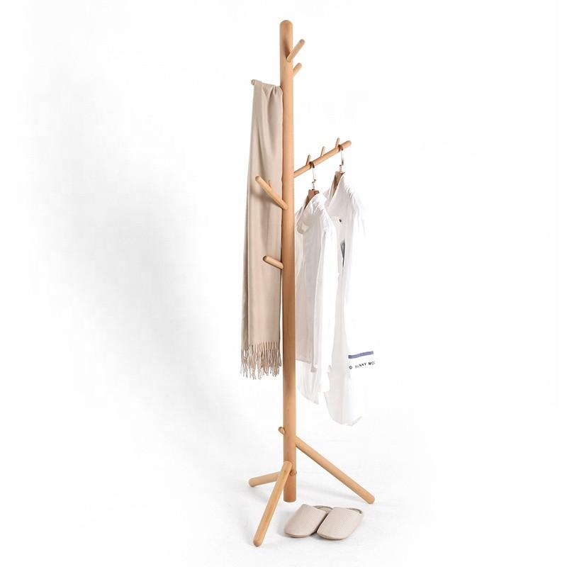 custom nordic style delicate workmanship wooden hat display stands wood coat racks