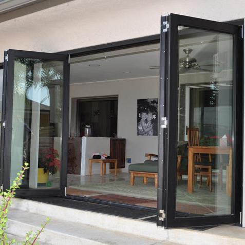 Soundproof Thermally Broken Top Quality Aluminum Folding Doors