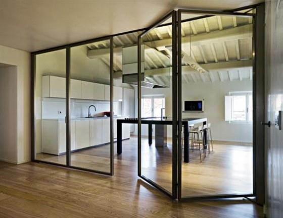 The Best Bi fold Doors Aluminum With Tempered Glass Folding Door Interior