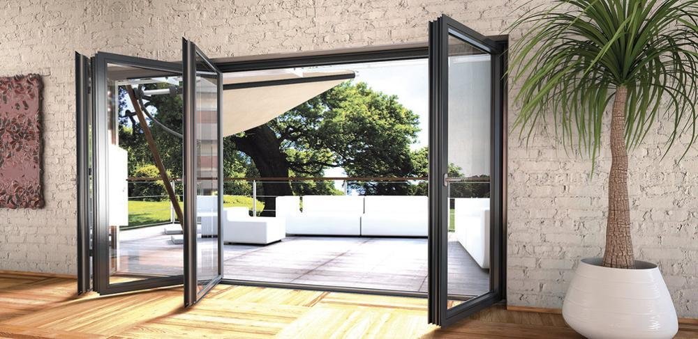Aluminum Alloy Double Glazing Low PricesFolding Door