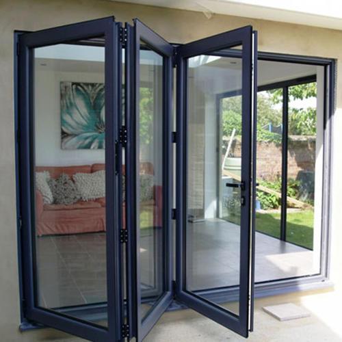 Villa or House Sound Insulation Aluminum Accordion Folding Door Manufacturer