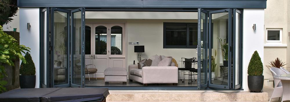 Aluminium Large Folding Door Design For House or Office