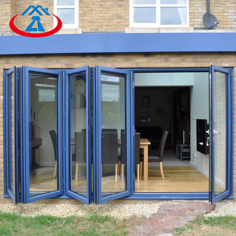 Hot Slat Factory Price Aluminum Folding Doors Bi Fold Doors