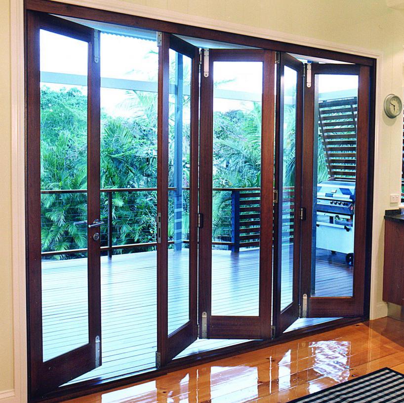 Factory Price High Performance Aluminum Folding Door