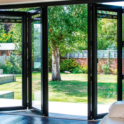Excellent Quality High Performance Aluminum Folding Door for house or villa