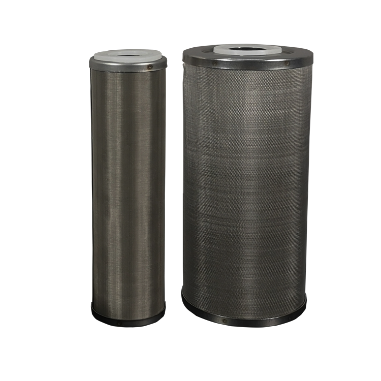 Best price 75 micron sintered SS powder 20 inch SS316L stainless steel micron filter for filter housing cartridge filter