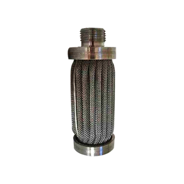 SS 304 316L sintered stainless steel material 50 micro sinter metal wire mesh filters for hydraulic oil filter replacement