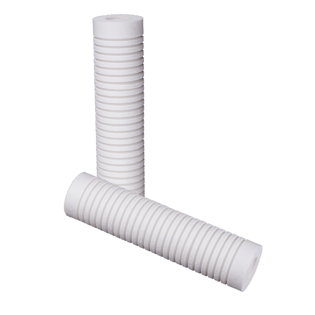 High-precision meltdown water filter element for liquid water filtration housing