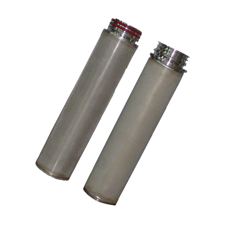 High quality SS 304 316L stainless steel pleated 100um micron water filter for industrial oil liquid cartridge filter