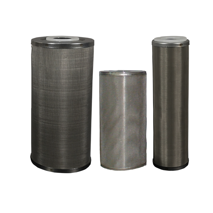 Customized stainless steel screw M20 M30 liquid filtration stainless cartridge filter with metal powder 5/10/50 microns