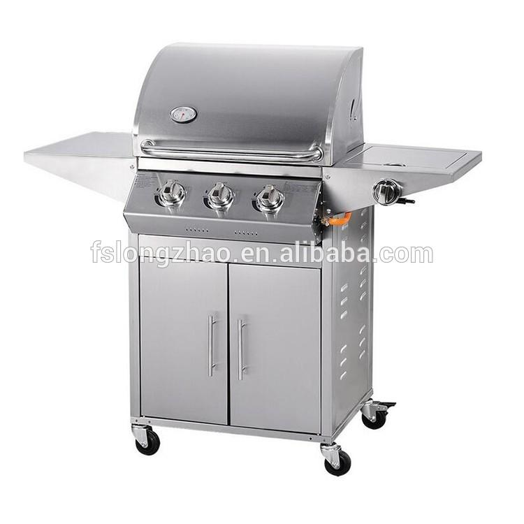 Hot selling CE approval stainless steel gas bbq grill outdoor