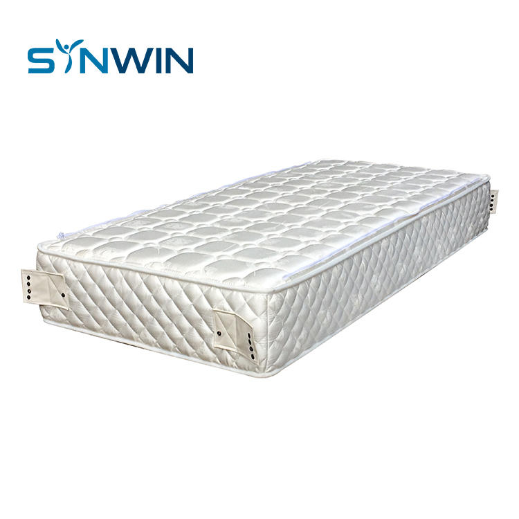 Stitching tight top Australia orthopedic pocket king size spring mattress