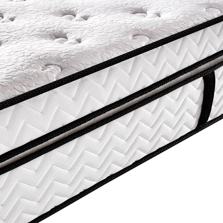 37cm Double spring luxury euro top pocket spring mattress