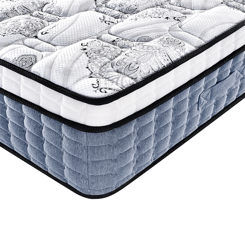 New arrival 5 star hotel 32.5cm luxury hotel single bed with spring mattress