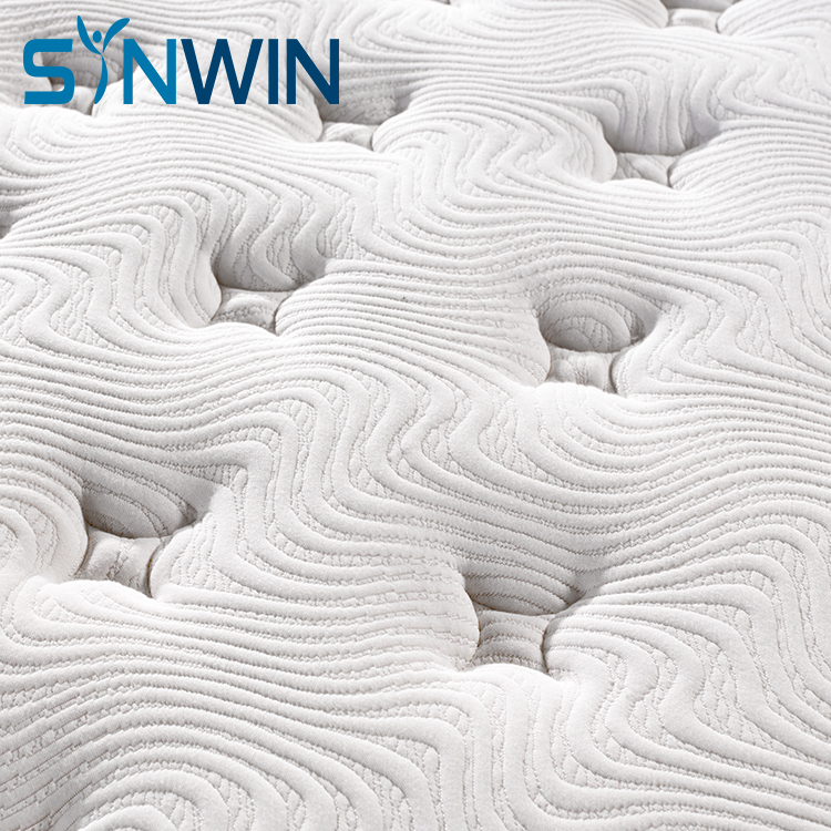 Euro top pocket spring mattress firm custom spring mattress lowest price mattress roll up in box