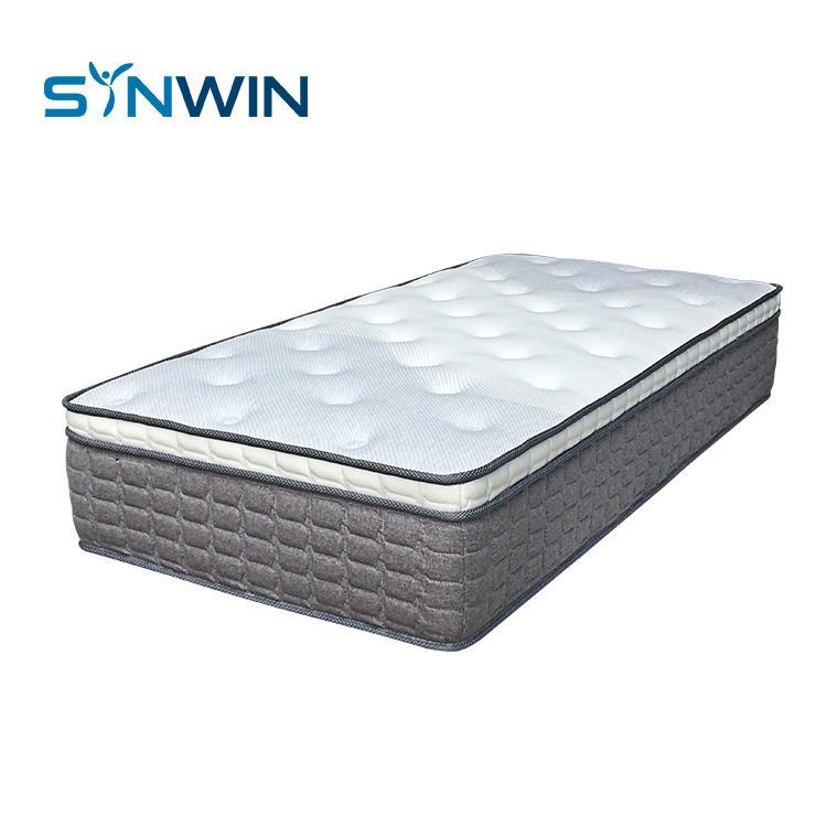 Modern Home Furniture Euro Top Memory Foam Pocket Spring Mattress