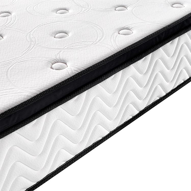 Luxury 25cm hard pocket coil mattress