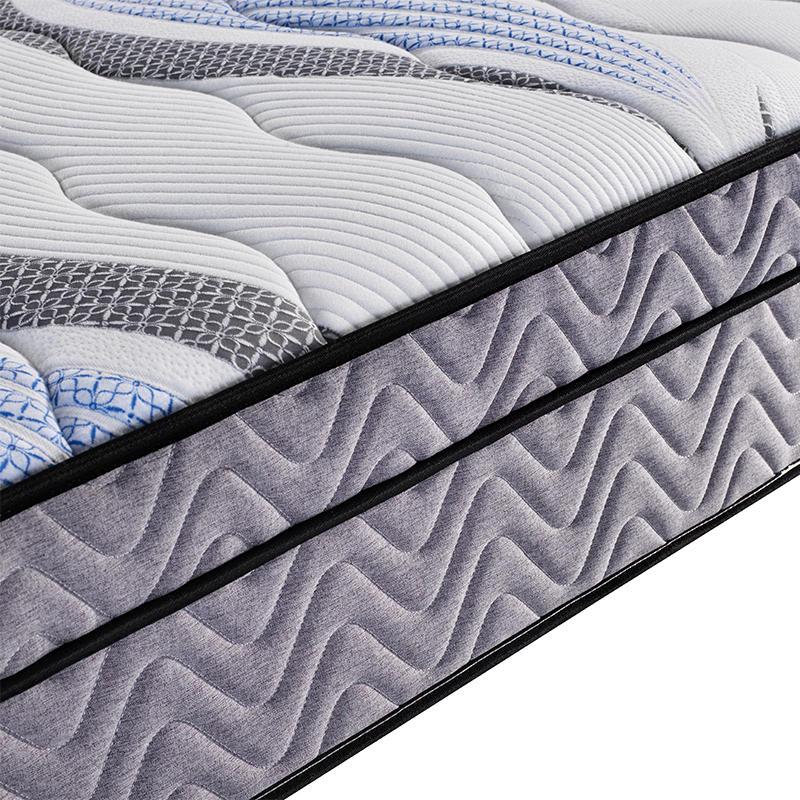 31cm queen guangdong mattress double pocket bonnell spring mattress