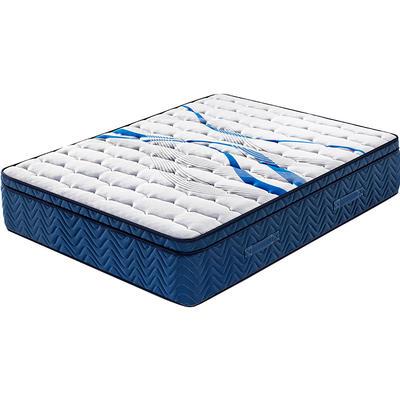 35cm 12 inch euro top natural fireprooflatex pocket spring mattress china