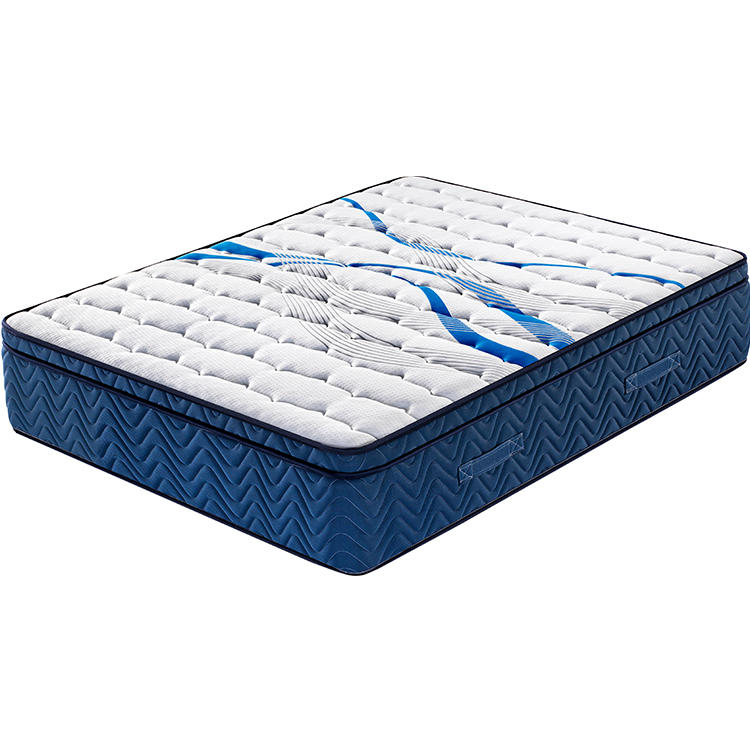 35cm 12 inch euro top natural fireprooflatex pocket spring mattress china