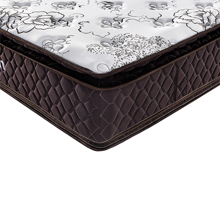 Double pillow top Hotel luxury pocket spring mattress