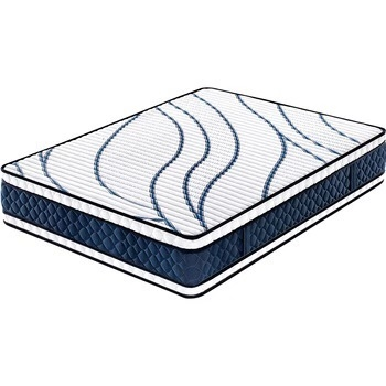 34cm memory sponge 5 star hotel vacuum double side usedbonnell spring mattress