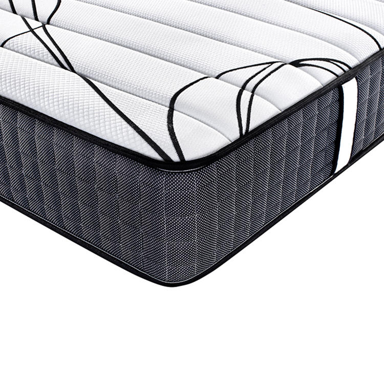 Medium hard 26.5cm chinese twin size bed mattress price