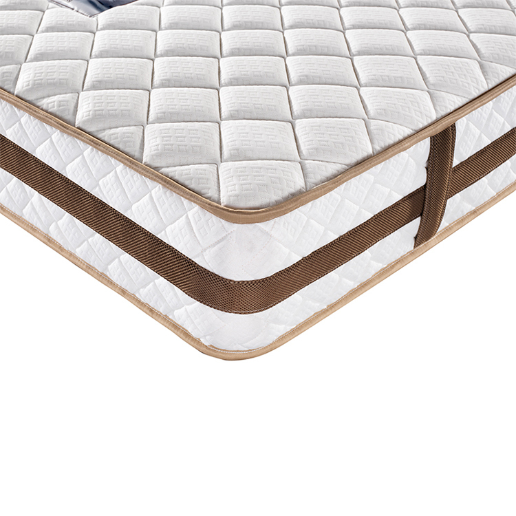 Customized wholesale pocket coil double spring mattress