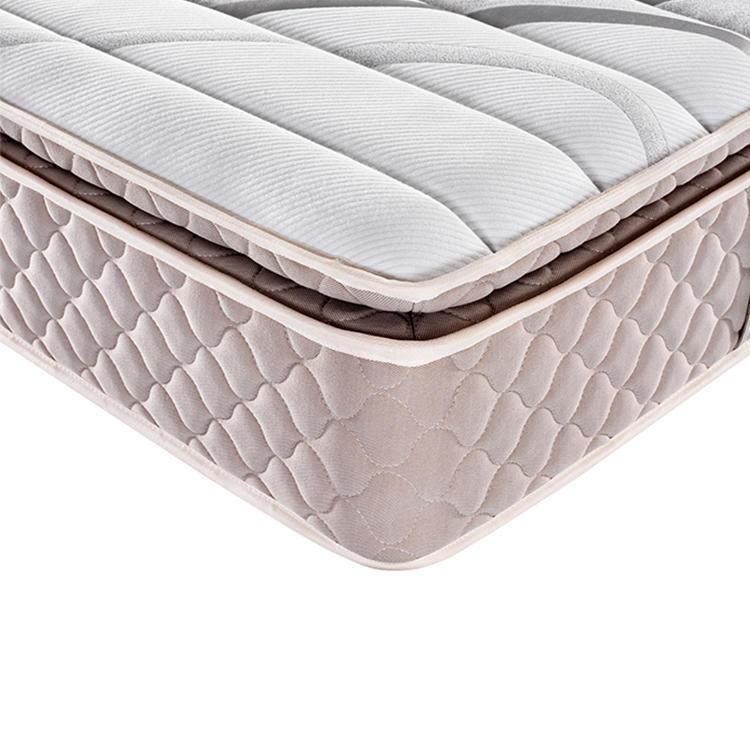Pillow top luxury foam spring mattress wholesale