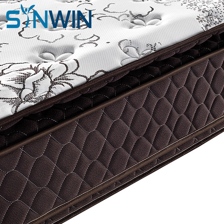 Double Pillow Top Pocket Spring Mattress Hotel Wholesale South American market OEM ODM Customize Mattress