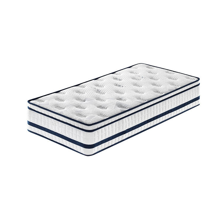 31cm euro top memory foam soft hotel pocket spring mattress