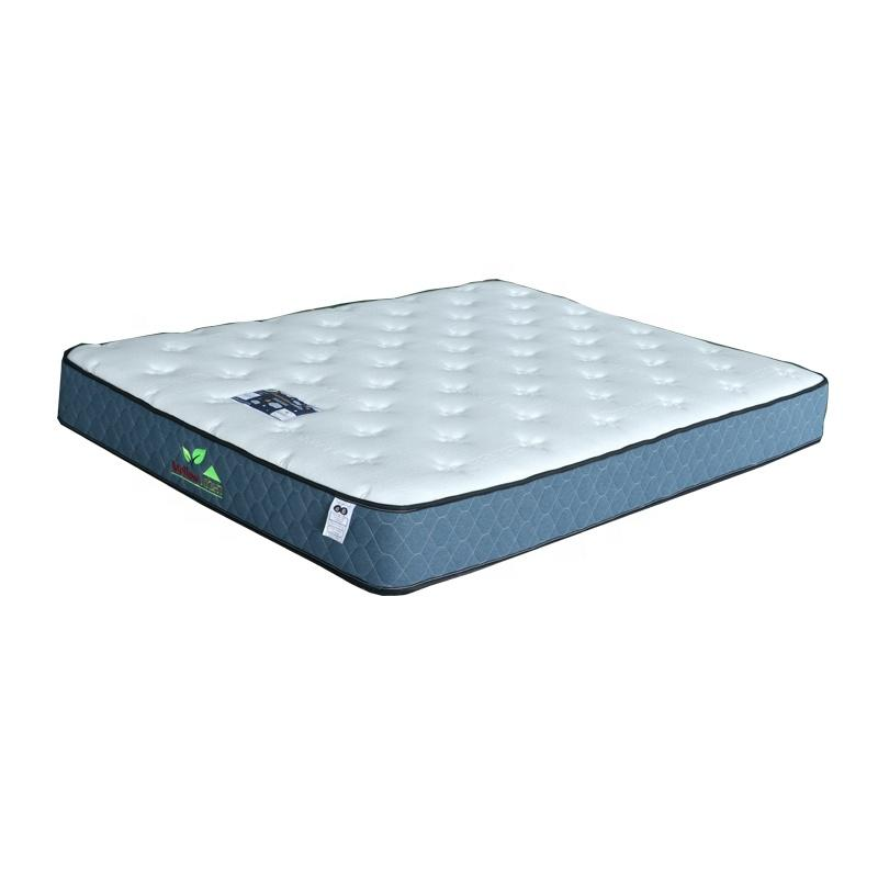 22cm tencel pocket bed spring mattress single bed