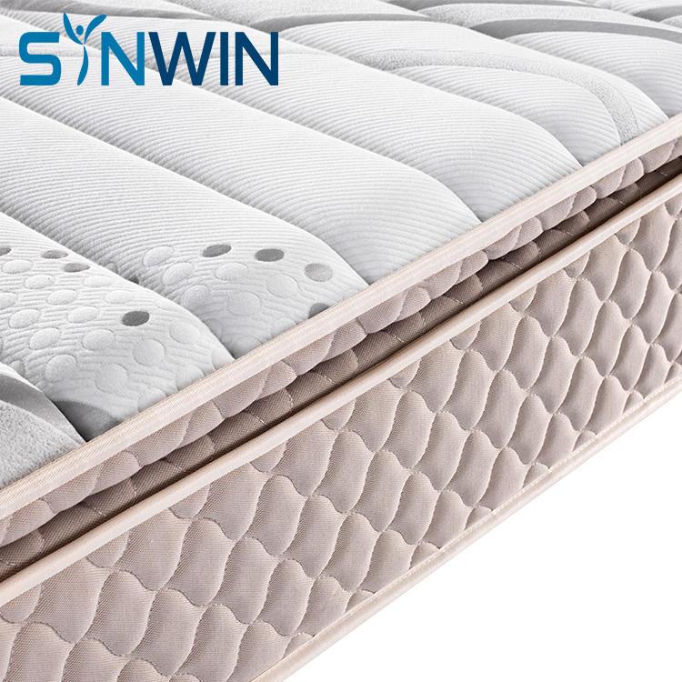 28cm gel memory foam mattress queen size hotel mattress soft comfort mattress