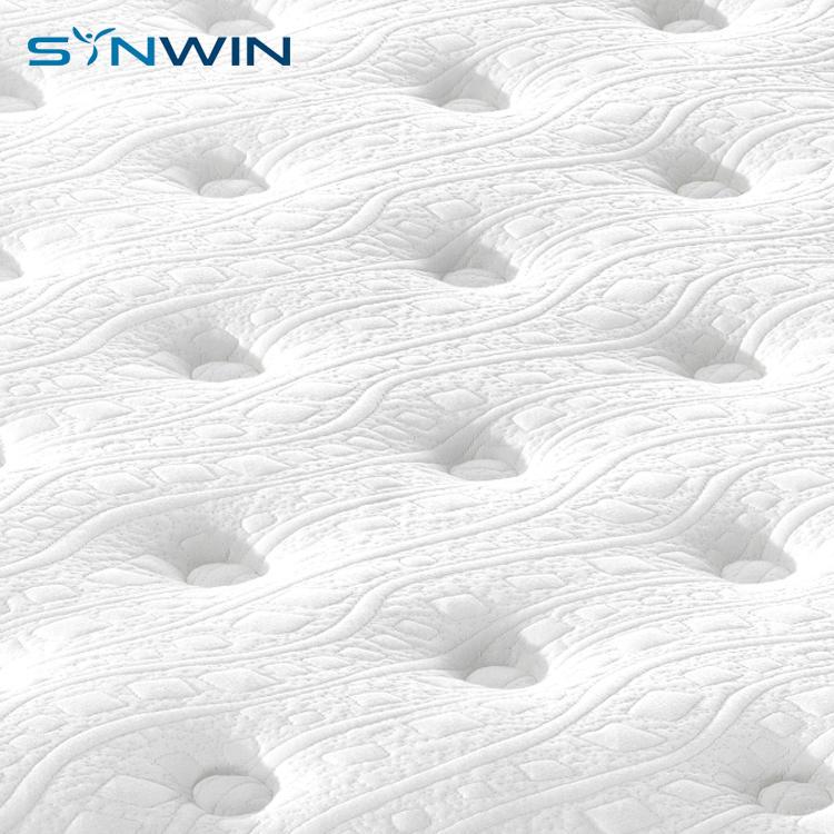 10 inch euro king single home furniture pocket spring mattress