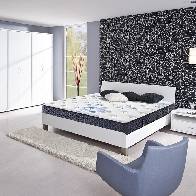 factory wholesale cheap memory foam pocket spring mattress
