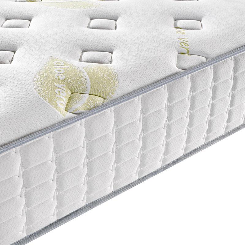 25cm compressed foam luxury bed pocket spring mattress