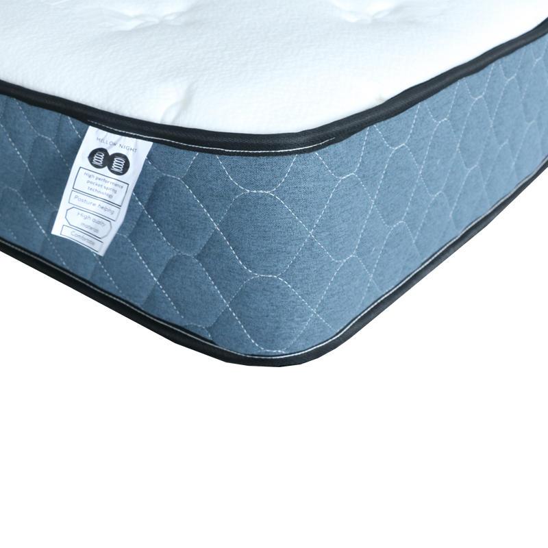 22cm tencel pocket bed spring mattress single bed