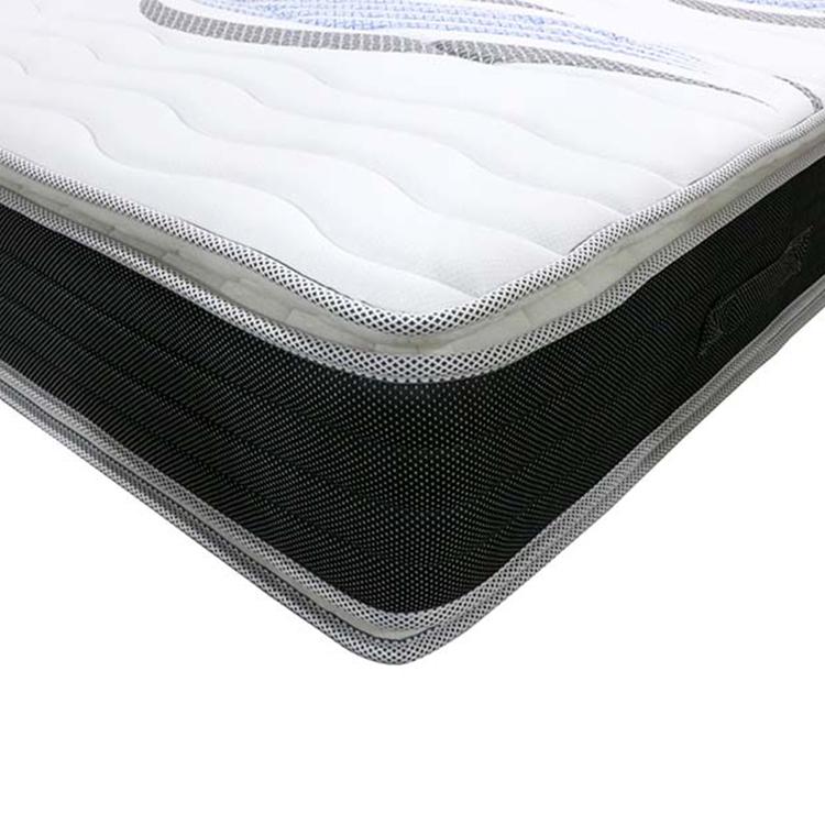 32cm Double pillow top mattress hotel bed king size spring mattress