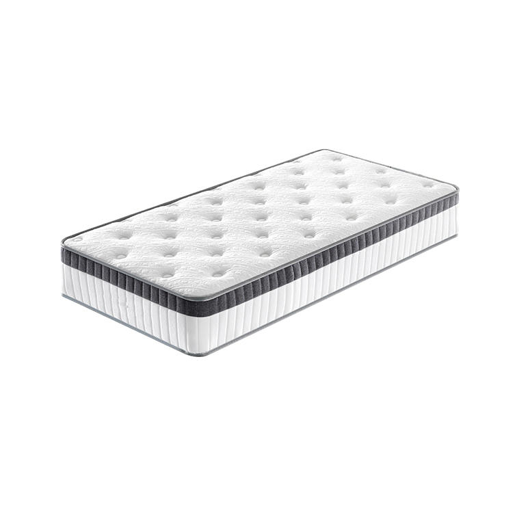 10 inch euro king single home furniture pocket spring mattress