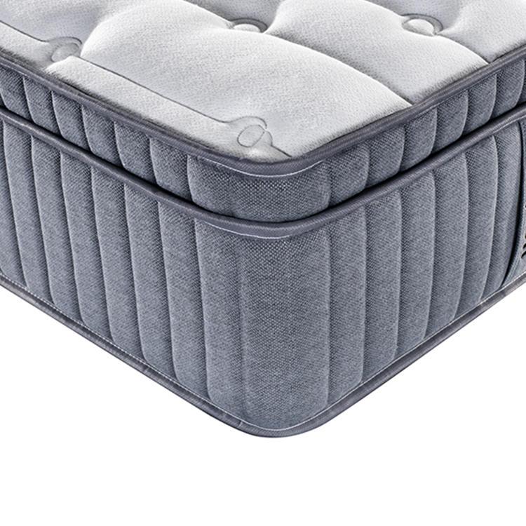 36cm 5 star level luxury hotel latex spring mattress king size
