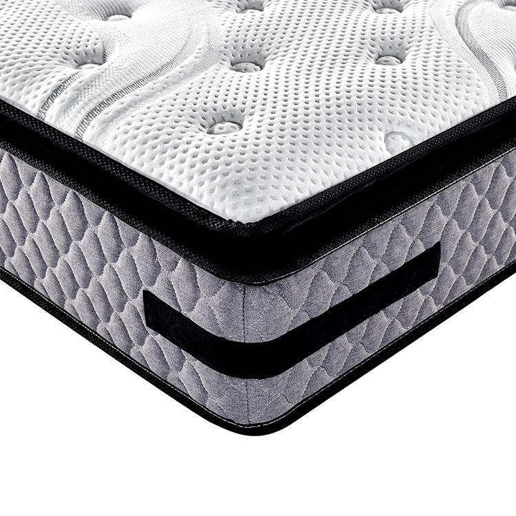 Perfect pillow top design king size spring mattress