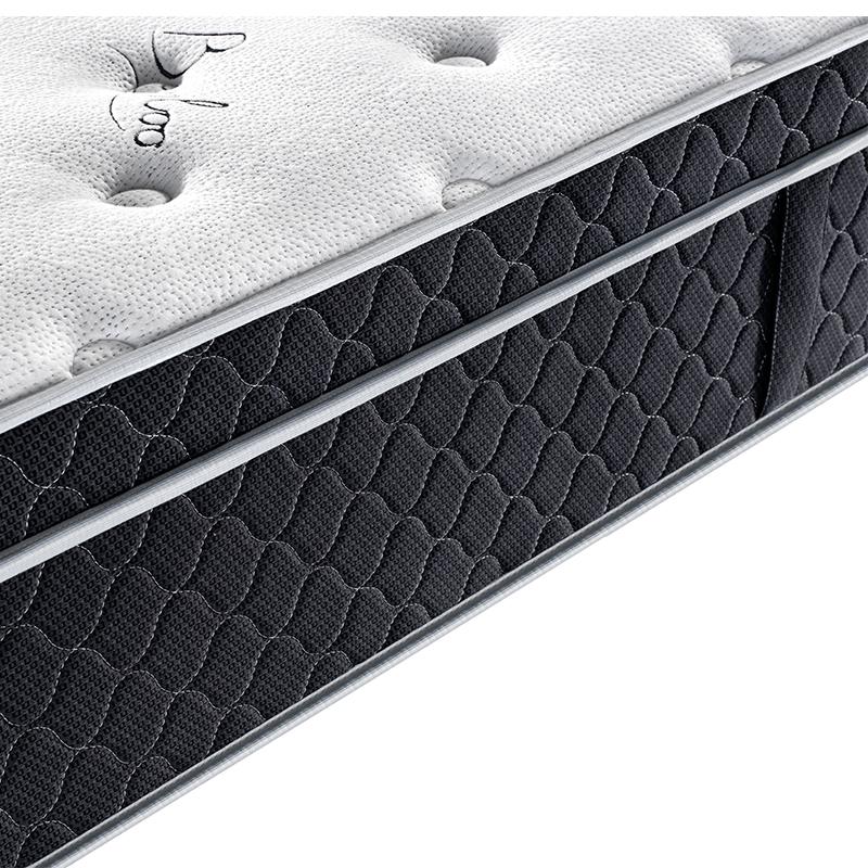 Bamboo fabric 33cm king size pocket spring comfort mattress