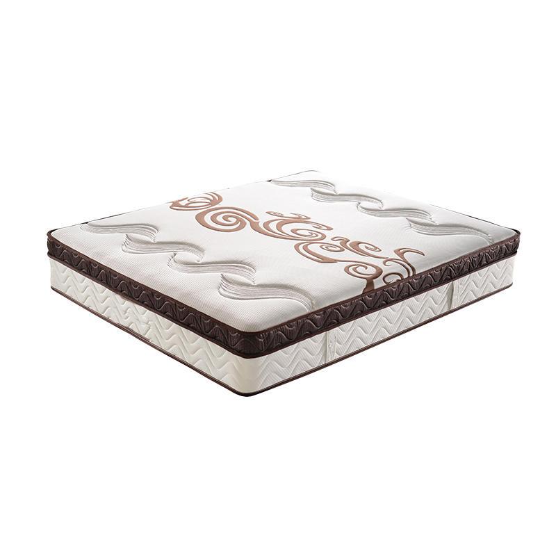 pocket spring memory foam mattress 5 star hotel king size mattress