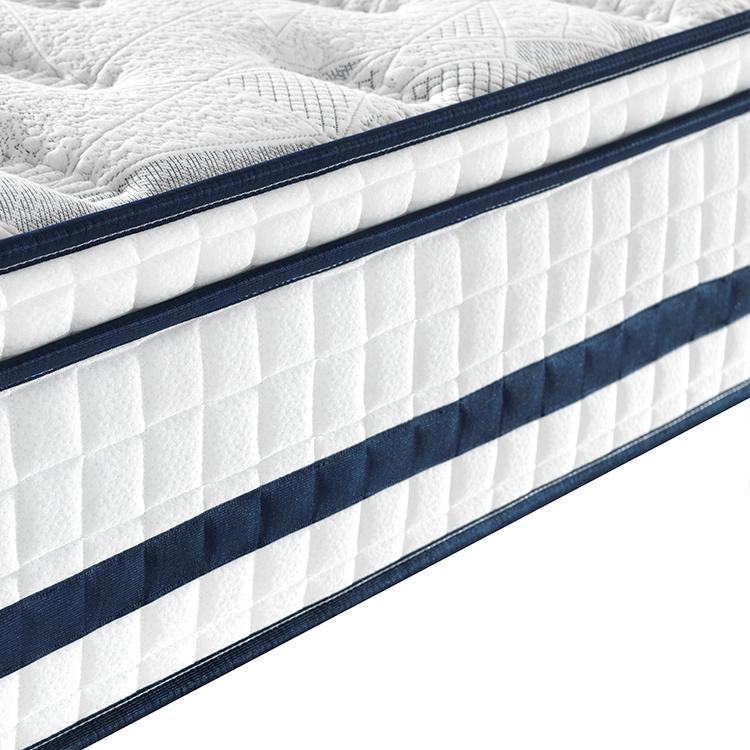 Europe top 31cm luxury memory foam American standard mattress